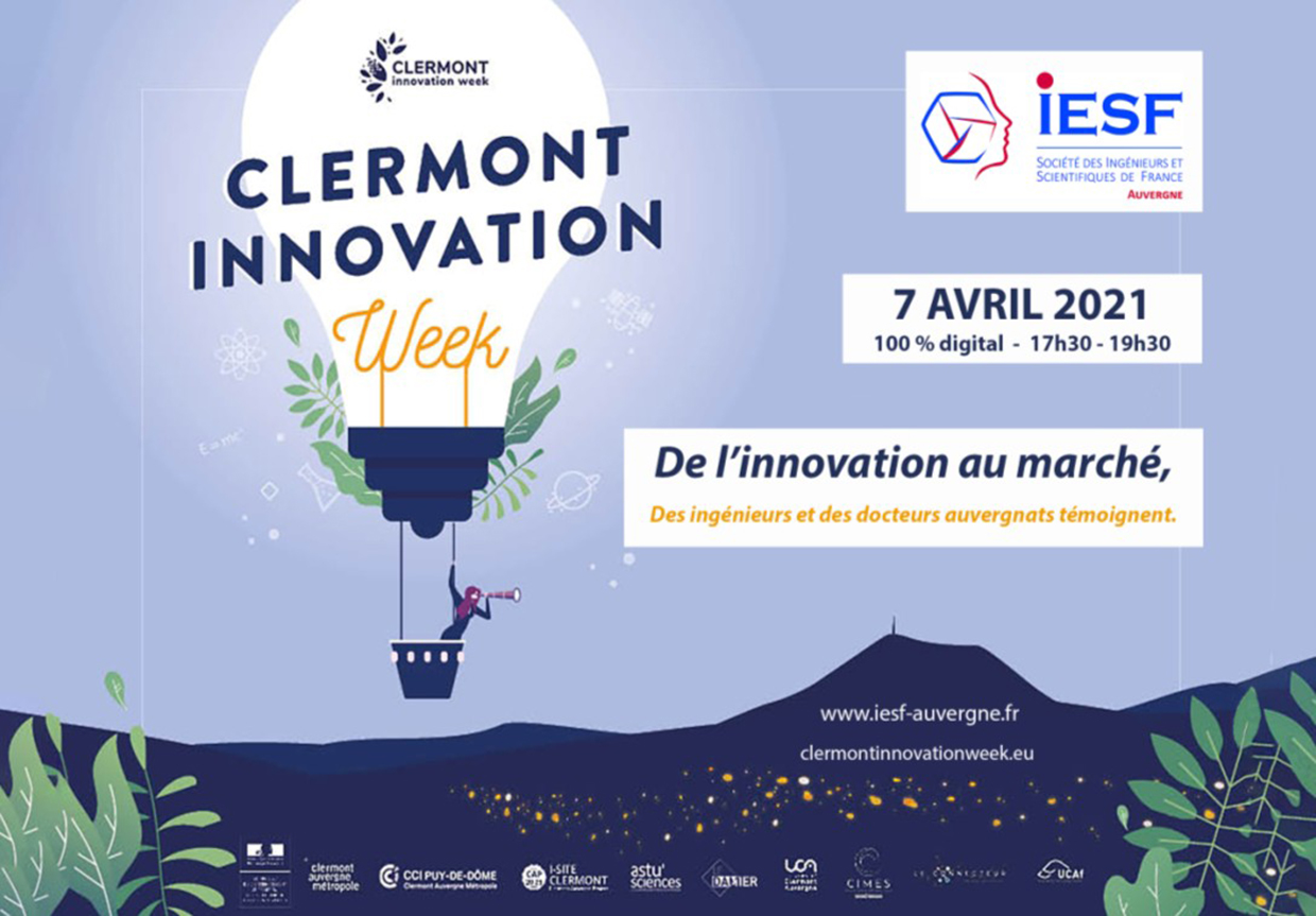 Clermont Innovation Week le 7 avril